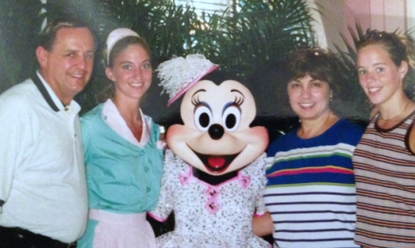 Hollywood and Vine-Minnie and My family