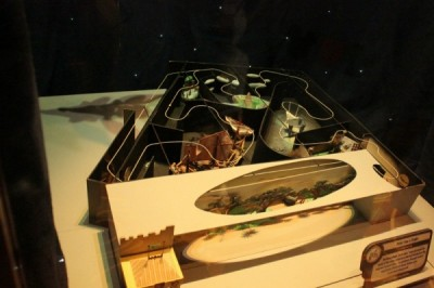 Model of Peter Pan's Flight in Walt Disney: One Man's Dream