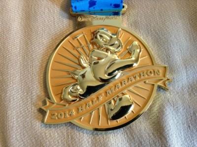 WDW Half Marathon Donald Medal