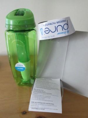 water bottle instructions