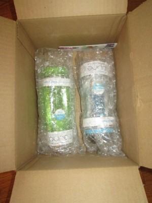 water bottle packaging