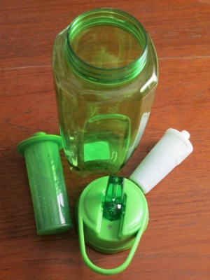 water bottle parts