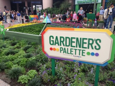 Epcot Flower and Garden Gardeners Palette