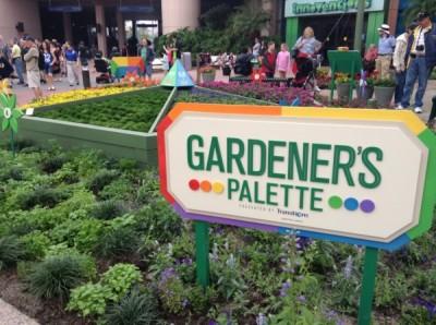 Epcot Flower and Garden Gardeners Palette