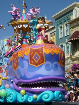 Festival of Fantasy Parade Disney Characters (9)