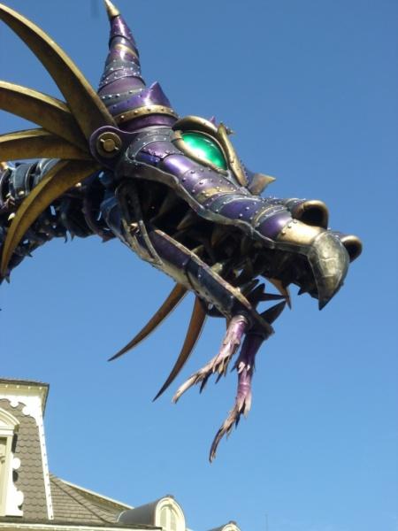 Festival of Fantasy Parade Maleficent Float (5)
