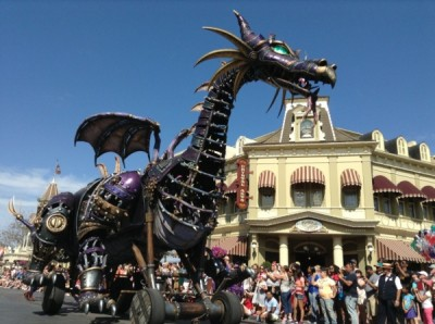 Festival of Fantasy Parade Maleficent Float (8)