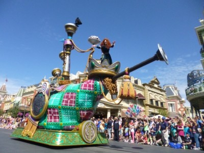 Festival of Fantasy Parade Merida Brave Float (1)