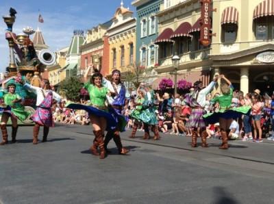 Festival of Fantasy Parade Merida Brave Float (2)