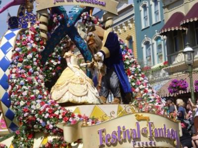 Festival of Fantasy Parade Princess Float (10)