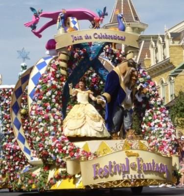 Festival of Fantasy Parade Princess Float (9)