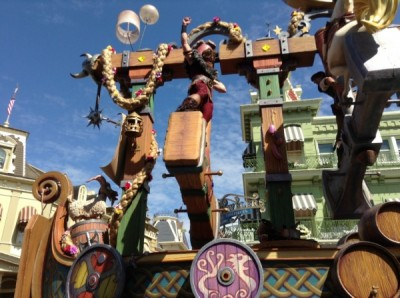 Festival of Fantasy Parade Rapunzel Tangled Float (4)