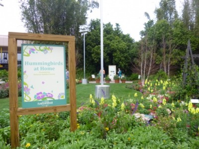 Flower and Garden Festival Hummingbirds