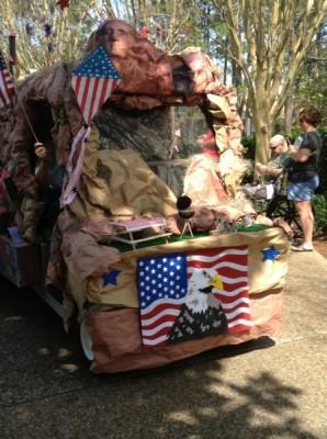 Port Orleans Mardi Gras Parade (5)