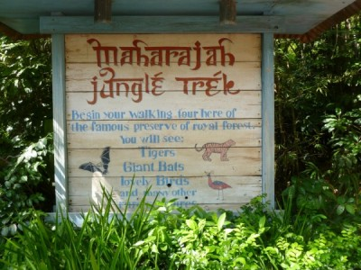 maharajah trek sign