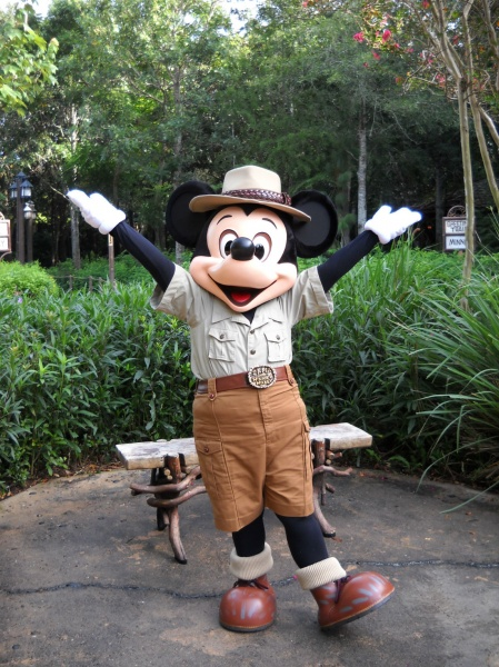 Animal Kingdom Mickey