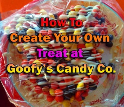 How To Create Your Own Treat at Goofy's Candy Co