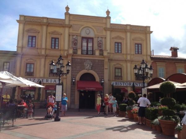 Via Napoli at Italy Pavilion