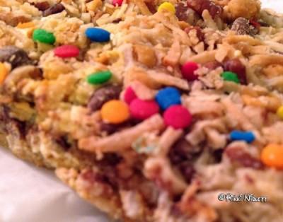 Close up of Magic Cookie Bar