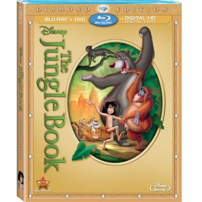 Blu-ray cover Copyright Disney