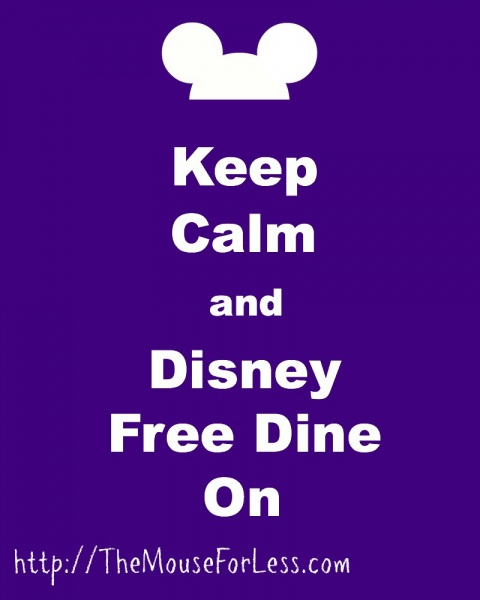 Keep Calm Free Dine