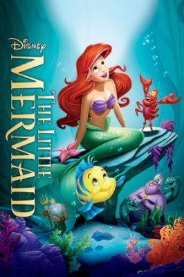 The Little Mermaid DVD cover Copyright Disney