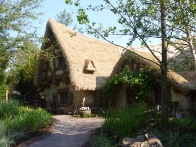 Seven Dwarfs Mine Train cottage