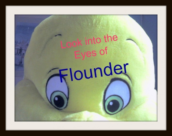 The Little Mermaid Flounder