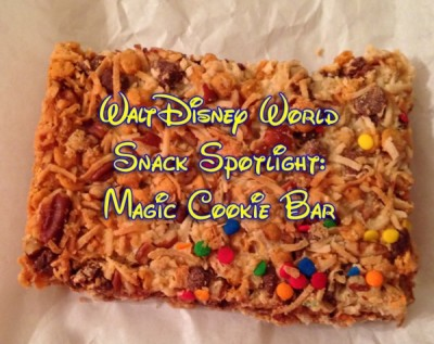 Walt Disney World Snack Spotlight-Magic Cookie Bar