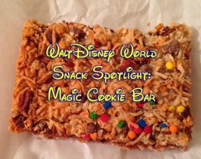Walt Disney World Snack Spotlight-Magic Cookie Bar