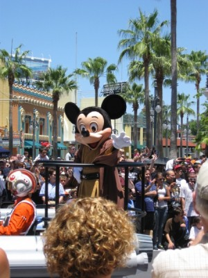 star wars weekends motorcade
