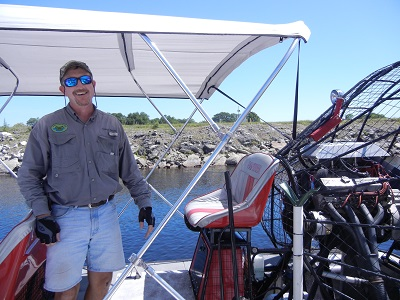 Airboat Captain Harold