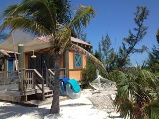 Cabanas at Castaway Cay