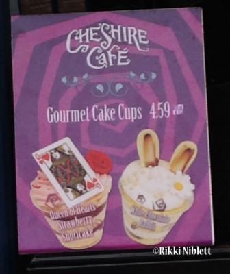 Cake Cup Menu