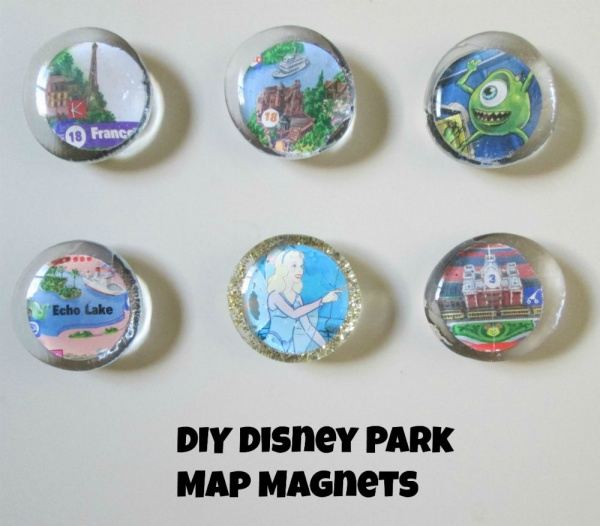 DIY Disney Magnets
