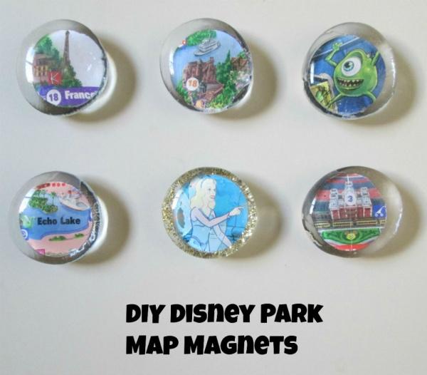 diy disney themed magnets