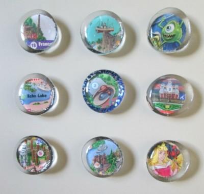 Finished Disney Magnets