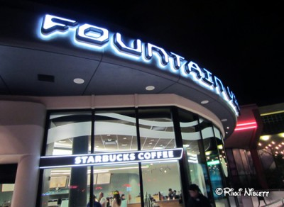 Fountain View Starbucks Outside