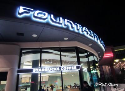 Fountain View Starbucks Outside