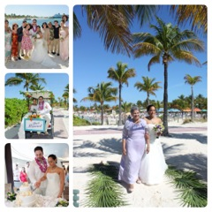 Wedding at Castaway Cay