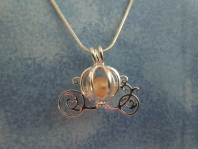 Pearl inside Disney Necklace