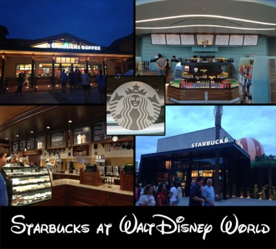 Starbucks at Walt Disney World