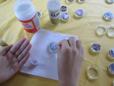 Step 1 glitter Disney Magnet