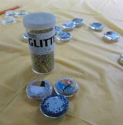 Step 2 Glitter Disney Magnet