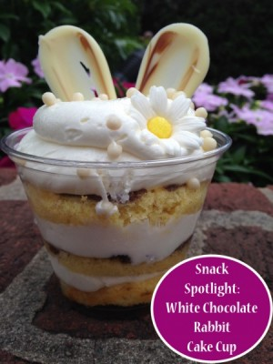 White Chocolate Rabbit Cake Cup
