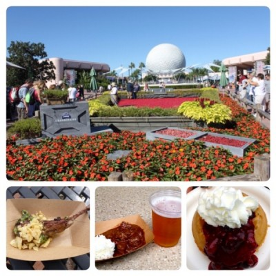 A food lovers paradise: Epcot Food and Wine Festival