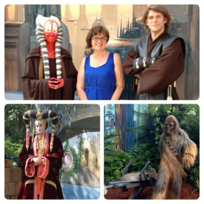 Meeting Star Wars Characters