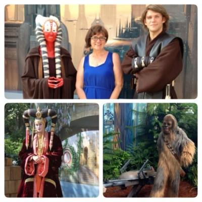 Meeting Star Wars Characters
