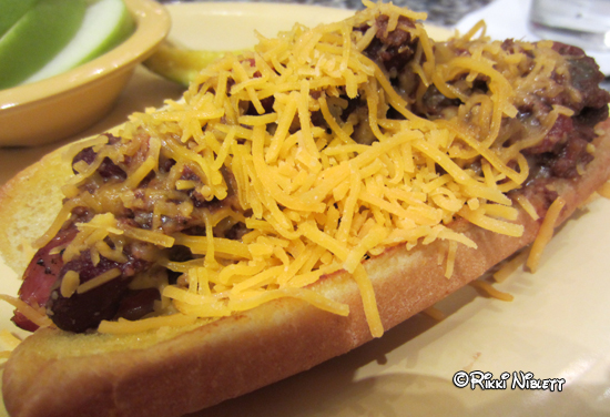 Beaches and Cream Chili Chese Dog