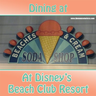 Dining at Beaches and Cream